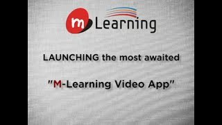 M Learning App for IIT JEE & NEET Video Lectures
