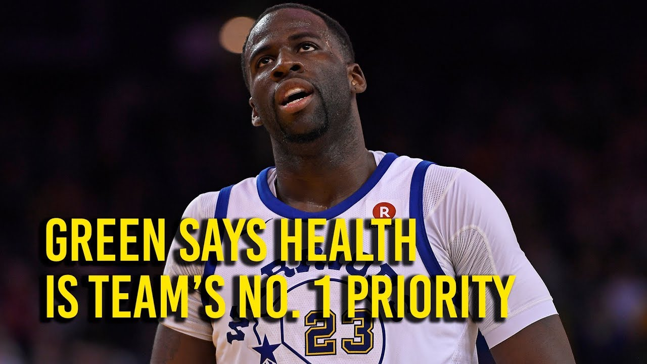 Green says Warriors' health is top priority before playoffs