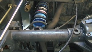 Airbag suspension on Jeep Wrangler JK from Airbag Man -  how to install