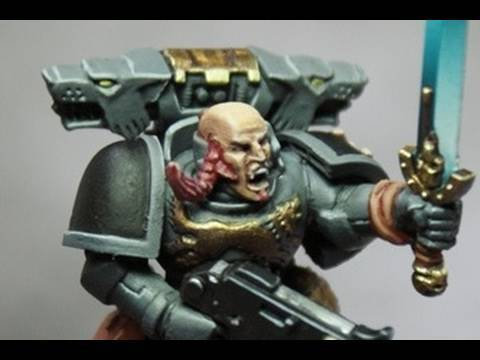 How to paint Space Wolves 13th Great Company Space Marine by Lester Bursley Video