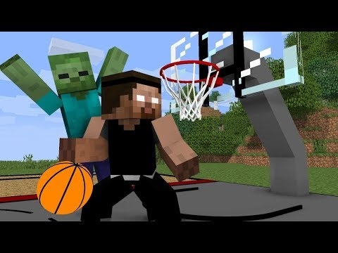 Monster School: Basketball Challenge