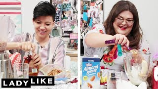 We Competed To Make The Best Protein Shake • Ladylike
