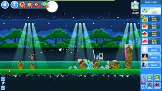 Angry Birds Friends - Weekly Tournament  2012 October 01 level 1