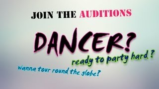 Can Bener - Dancers Wanted! Dansçı Aranıyor! | Auditions @ Masquerade Club by Bedroom Project