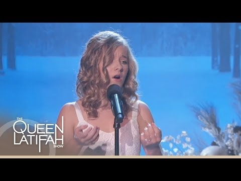 Jackie Evancho Performs 'o Holy Night' On The Queen Latifah Show video
