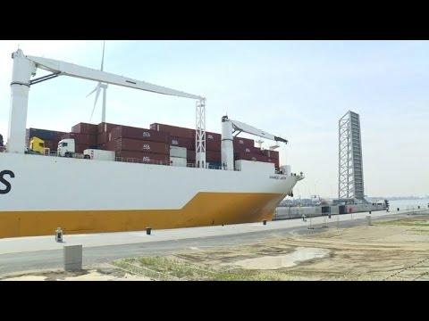 Belgium inaugurates the world's biggest lock in Antwerp