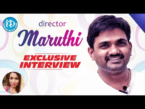 Bale Bale Magadivoy Director Maruthi Exclusive Interview || Talking Movies with iDream #19