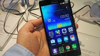 Lenovo A7000 Hands On Review - MWC 2015