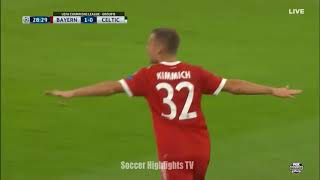 Bayern Munich vs Celtic 3-0 All Goals and Extended Highlights Champions League October 18 , 2017