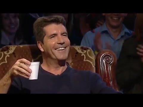 Simon Cowell Interview & Lap -  BBC