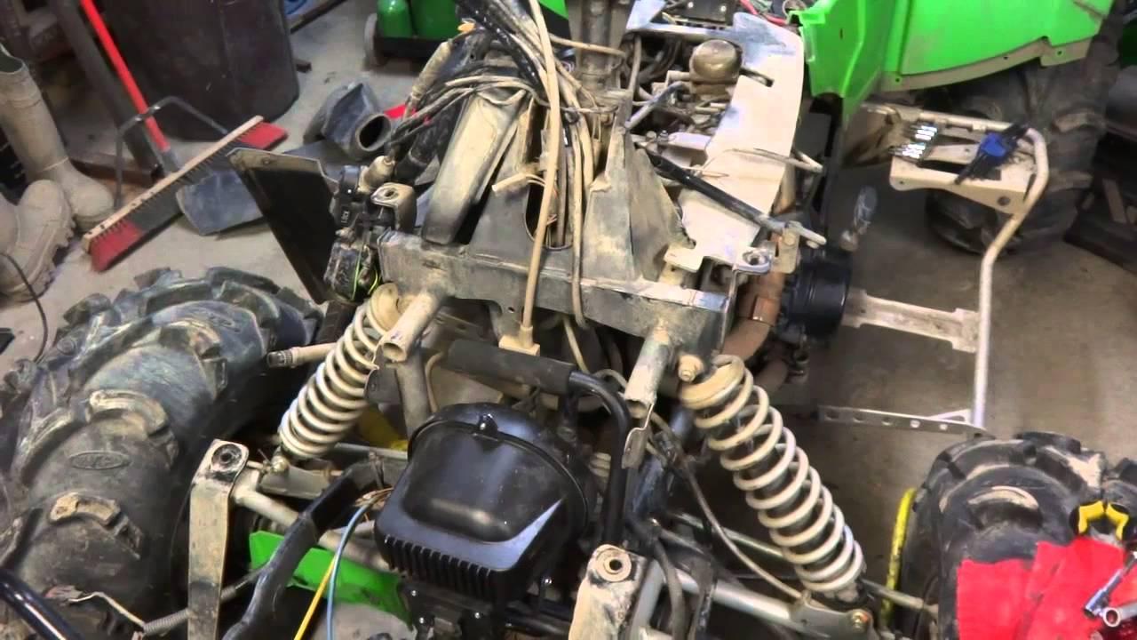 Arctic Cat Suzuki Engine