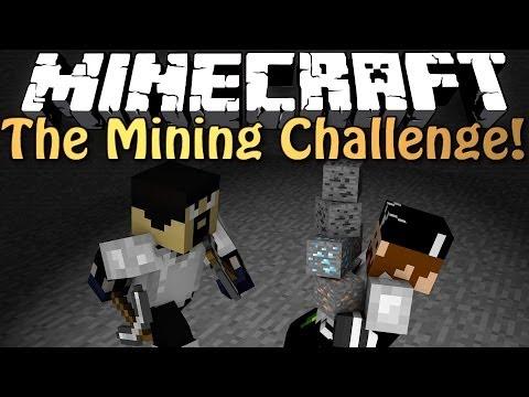 Minecraft: TWIST ENDING?! THE MINING CHALLENGE w/ AntVenom!