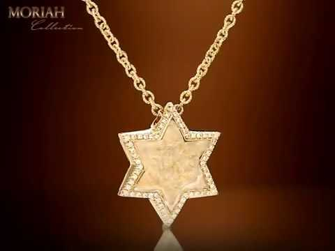 Moriah Collection-Jerusalem stone high jewelry|Star of David Jewelry