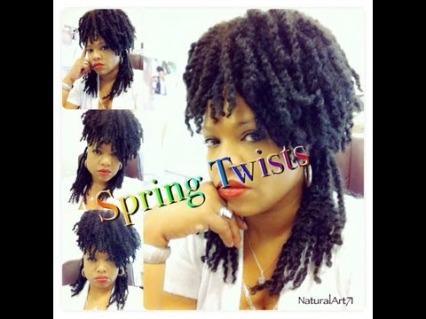 Spring Twist Tutorial 2013 (E-ON Hair)