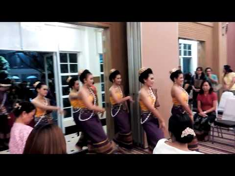Thai esan dance
