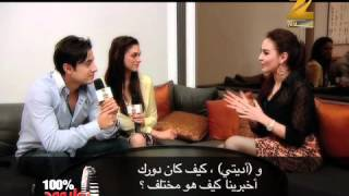London, Paris, New York Star-cast Interview on Zee Aflam