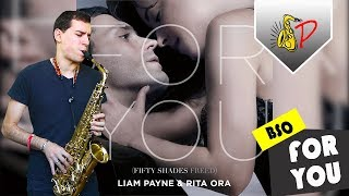 Download Lagu For You - Liam Payne ft. Rita Ora | Fifty Shades Freed (by SaxPinelin) Sax Cover Gratis STAFABAND