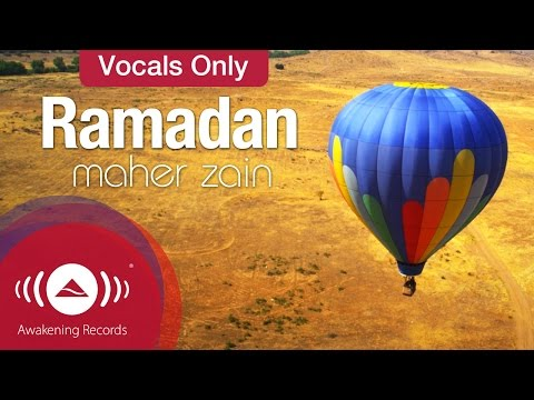 Maher Zain - Ramadan | English | Vocals Only Version