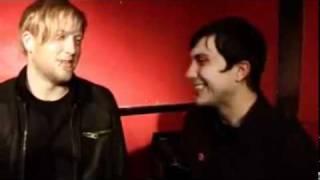 Gerard Way, Frank Iero & Bob Bryar Talking about superheroes