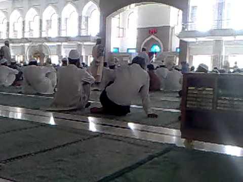 FORMER SINGER AMJAD HUSSAIN VISITING jamia Darul uloom karachi post by zuhair noor