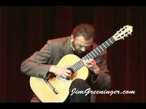 Classical/guitar, Jim Greeninger, Recuerdos de la Alhambra Music Videos