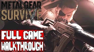 METAL GEAR SURVIVE Gameplay Walkthrough Part 1 FULL GAME - No Commentary