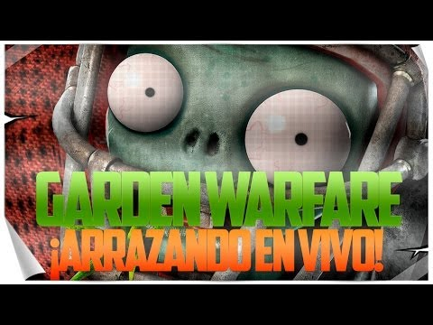 Plants vs Zombies: Garden Warfare | ¡Arrasando en Multijugador en VIVO! | #PaletosCrew