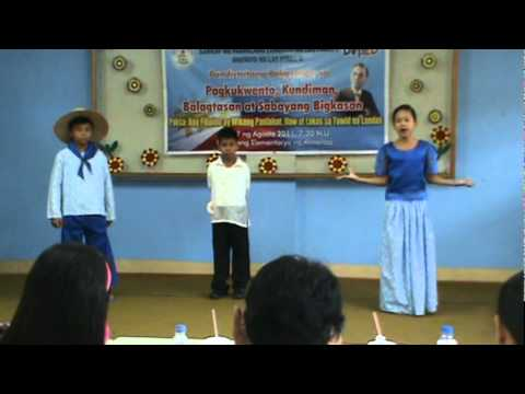 Balagtasan  sipag O Talino (1st Place) Aug.17,2011  Moonwalk Elem. School video