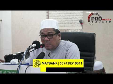 15-05-2017 Dato' Ustaz Shamsuri HJ. Ahmad: Surah Al-Maidah Ayat 100-101