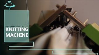 How to use a passap dm 80   plain knit and rib on a knitting machine  