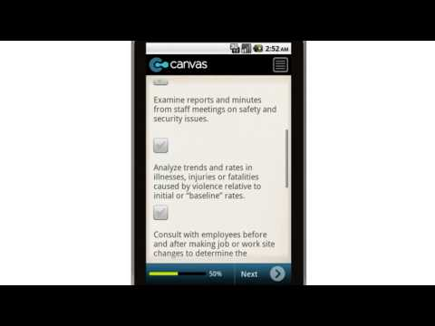 Canvas Retail Convenience Store Security Prevention Programs Mobile App