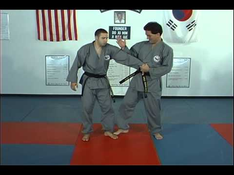Hapkido Belt Grap Thumb Down Techniques 1 thru 4 Image 1
