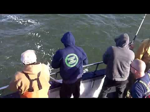 FISHERMEN/Sandy Hook Striper fishing video