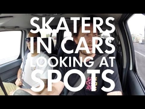 Skaters In Cars: Marty Murawski