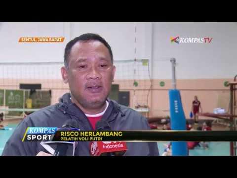 Timnas Voli Putra-Putri Jalani Latihan Jelang SEA Games 2017