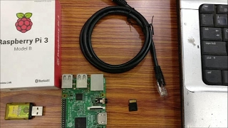 How to connect Raspberry PI to LAPTOP using Ethernet cable