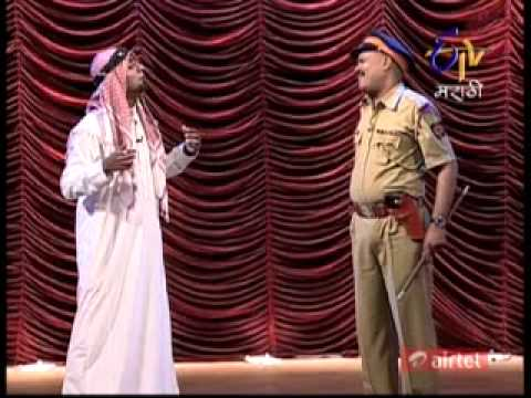 Comedy Express    Episod 23 11 12 Part 3 Arab and Marathi Kavi...