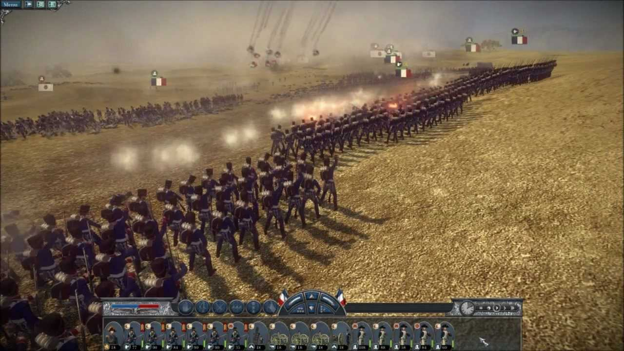 napoleon total war sound mod v3 musketscannons youtube