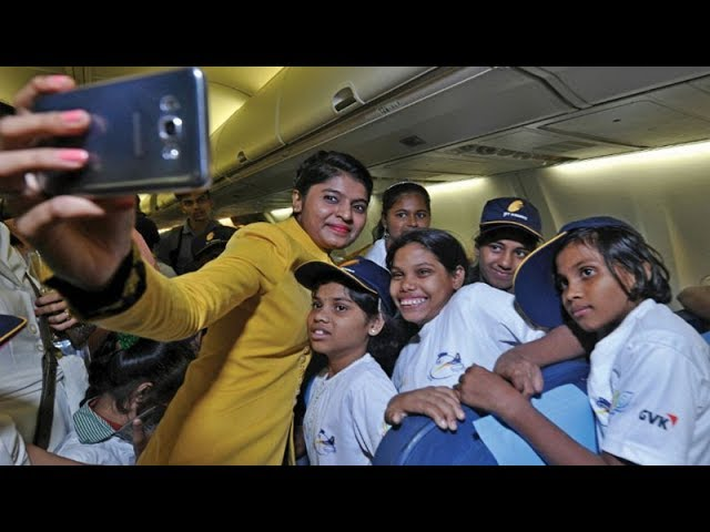 Mumbai: Jet Airways operates special flight for 100 under-privileged kids