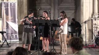 Academia Hermans Video - Academia de Música CNM em concerto 26Junho2011   Sofia Lopes, Guilherme Simões    Prof  Diana Guardado flauta transversal    Guantanamera trio