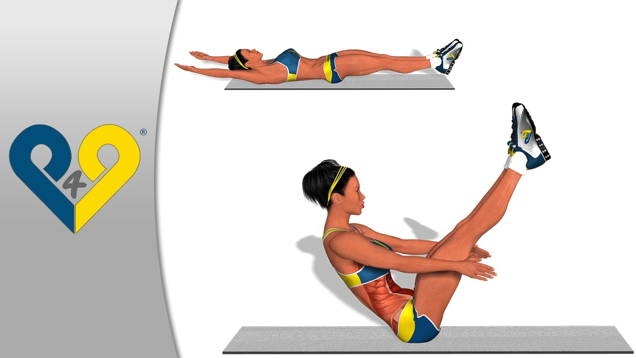 V Ups V-UPS  The best ABS exercise
