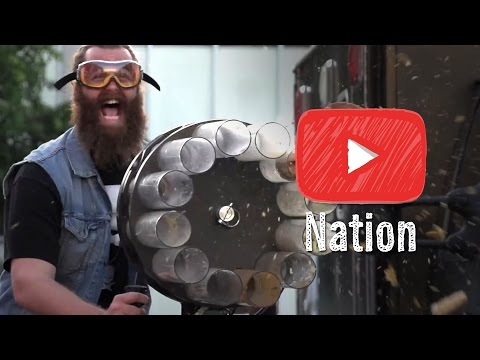 Epic Meal Time Breaks Out the Big Guns!