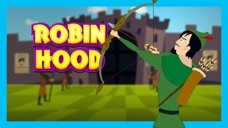 Robin Hood - Bedtimes Story For Kids || English Moral Stories For Kids || T Series Kids Hut Stories