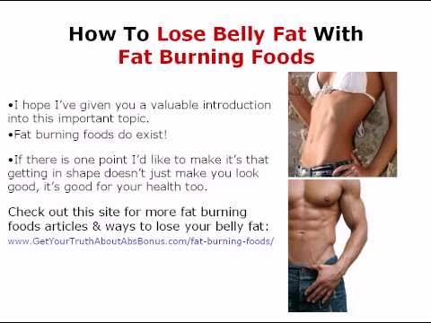 How To Lose Belly Fat - Low Carb Foods To Help You Lose