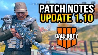 Black Ops 4: Here's 5 New Changes From Update 1.10 (Patch Notes)