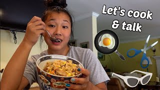 How to make a POWER DISH - what I make for myself after a level 10 gymnastics practice(ft.chit chat)