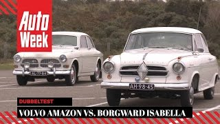 Volvo Amazon vs. Borgward Isabella - AutoWeek Classics Dubbeltest