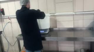 GMF-1000 bitkisel yağ filitre makinamız hindistan cevizi yagı filitre ediyor vetable oil filter
