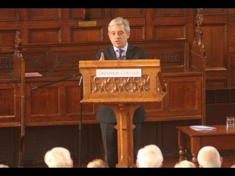 Parliament and the Public: Strangers or Friends? - The Rt Hon John Bercow