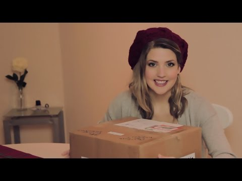 ASMR | The EPIC Unboxing of the BörnieBox! (Lotsa Crinkling & Tapping!)